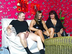 German, MILF, Old and Young, Teen, Threesome