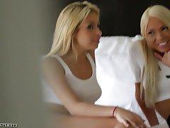 Blonde, Lesbian, Small Tits, Teen