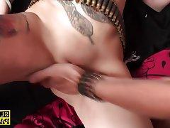 BDSM, British, Facial