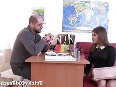 Blowjob, Russian, Teacher, Teen