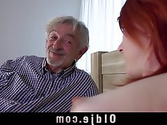 Cunnilingus, Old and Young, Redhead, Teen