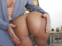 Anal, Ass Licking, Brunette, Mature, MILF