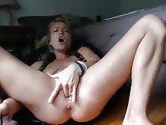 Babe, Blonde, Masturbation, Squirt, Webcam