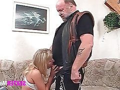 Old and Young, Blonde, German, Hardcore, Interracial