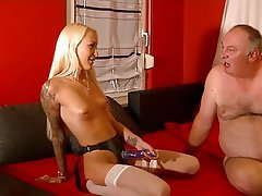 Old and Young, Anal, Cum in mouth, German, Teen
