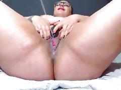 BBW, Close Up, Masturbation, Squirt, MILF