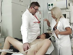 Double Penetration, German, Doctor