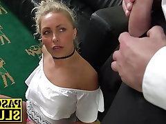 Blonde, Blowjob, BDSM, Bondage