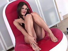 Close Up, Czech, Masturbation, Pissing