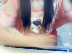 Asian, Korean, Webcam