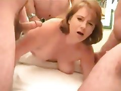 Gangbang, Blowjob, Old and Young