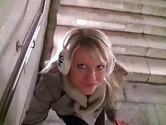 Amateur, Blonde, Outdoor