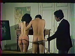 Group Sex, Hairy, Old and Young, Spanking, Vintage