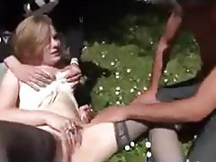 Blonde, French, Hardcore, Outdoor